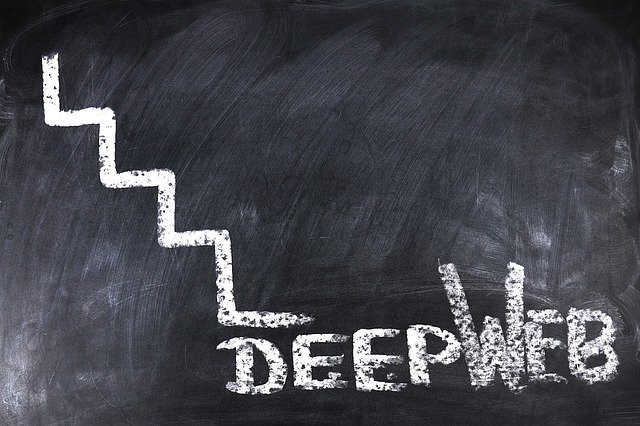 nápis deep web