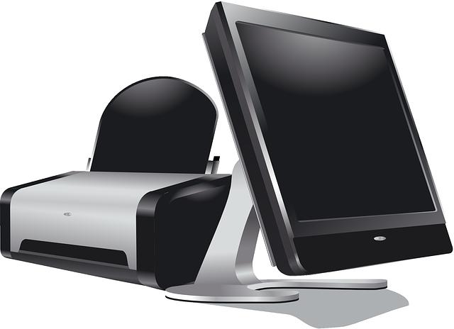 monitor a tiskárna
